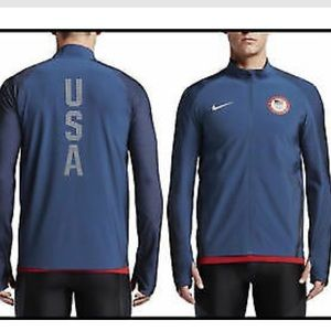 NWT Nike Men's Flex Team USA Olympic Drifit Jacket